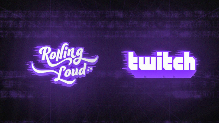 Rolling loud teaming up with Twitch for digital music festivals and entertainment channels